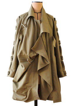 Military Coat front