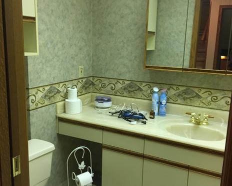 Main Bath Before 2