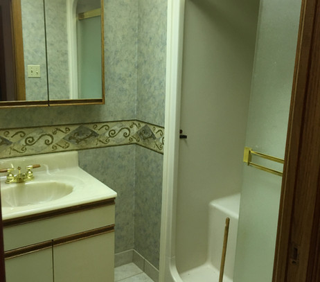 Main Bathroom Before 2