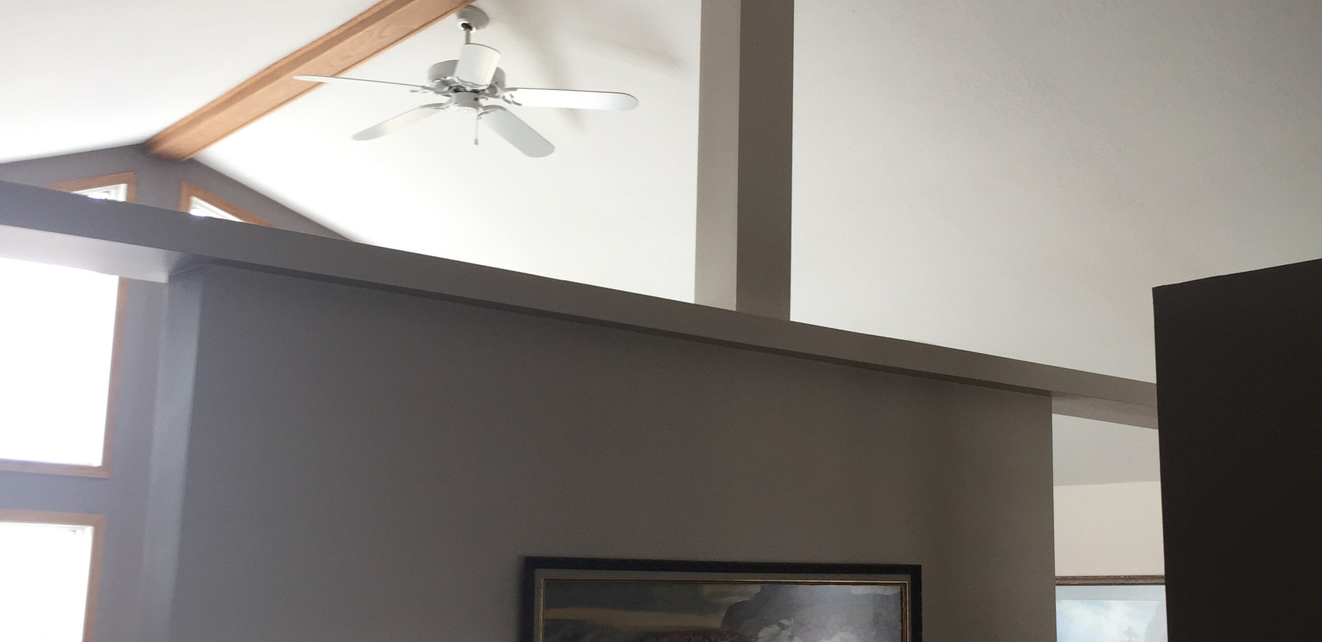 Post and Beam Wall Before