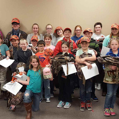 Hunter Safety Backpack program
