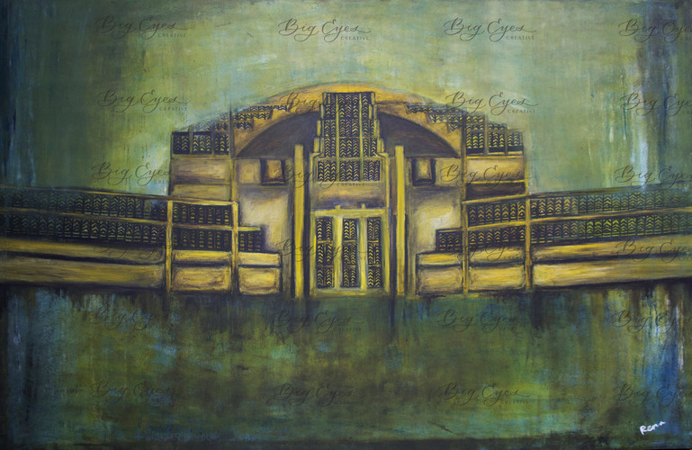 """Central Market"" 120/80cm. Available at $400."