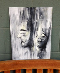 Acrylic on Canvas. Not Available.