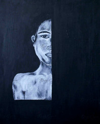 Acrylic on Canvas. 40/60cm. Available at $150.