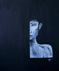 Acrylic on Canvas. 50/60cm. Available at $150.