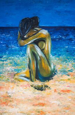 Acrylic on Canvas. 80/120cm. Available ($600)