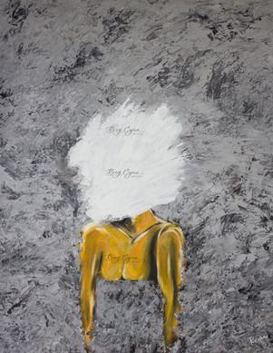 Acrylic on Canvas. 80/100cm. Available ($600)