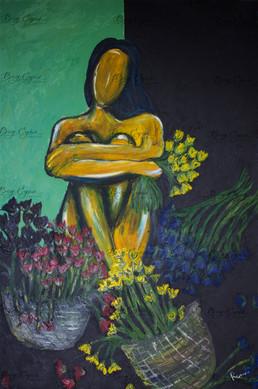 Acrylic on Canvas. 80/120cm. Available ($500)