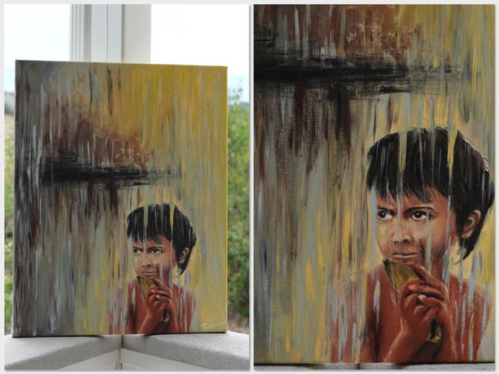 Acrylic on Cavas. SOLD.