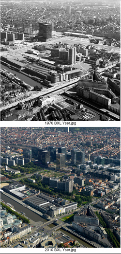 Brussels Yser 1970-2010