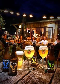 Shooting bière pour la brasserie Lupulus