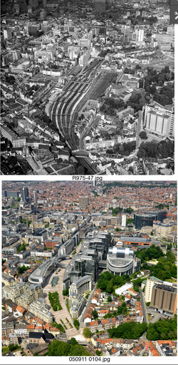 Brussels European Parlement 1970-2010