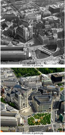 Brussels Sainte Gudule 1970-2010