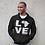 Thumbnail: LOVE Africa Hoodie Black