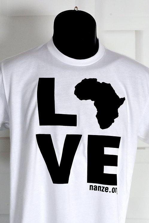 Africa Love, white