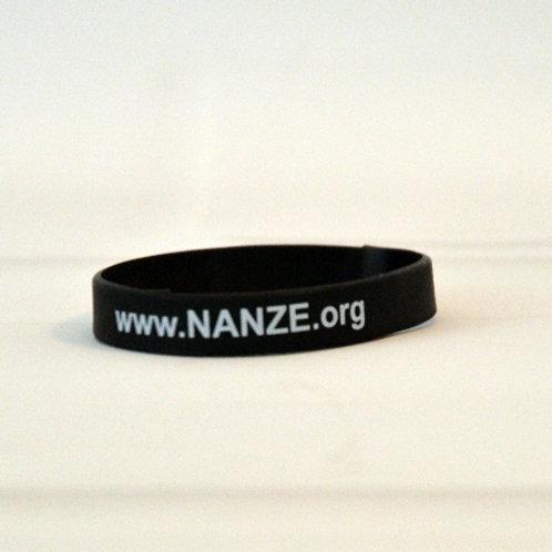 Silicone bracelet, Black