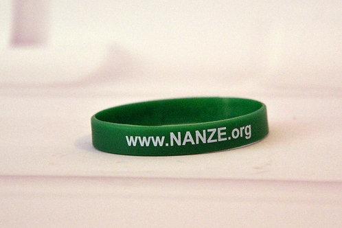 Silicone bracelet, Green