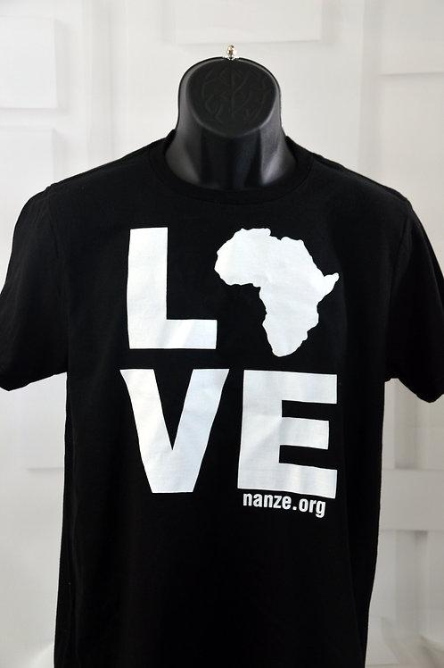 Africa Love Tee, black