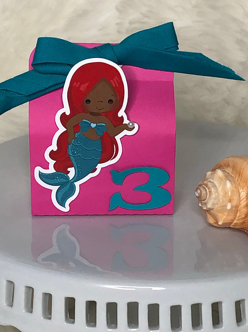 Mermaid Small Favor Box