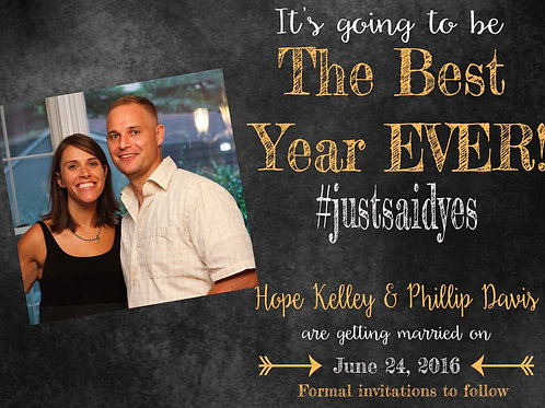 Best Year Ever Save The Date