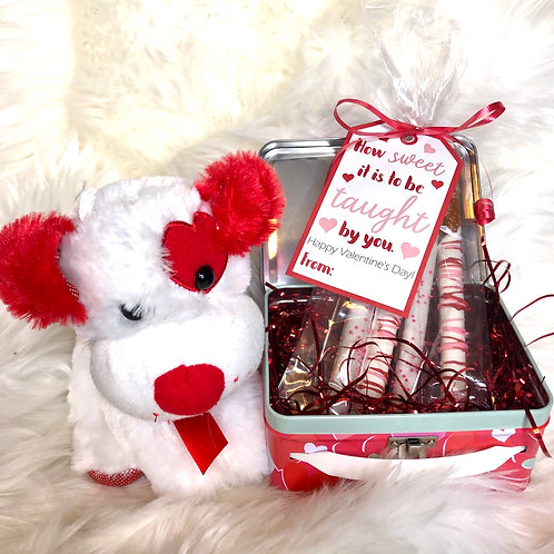 Taught By You Teacher Valentine Gift Tag