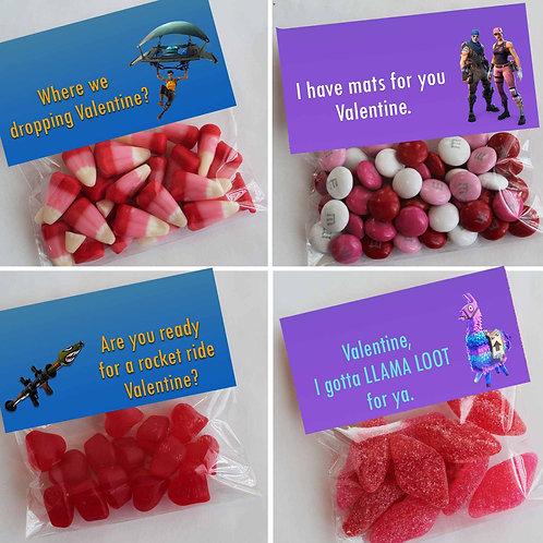 Fortnite Valentine Treat Topper