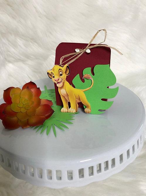 Lion King Small Favor Box
