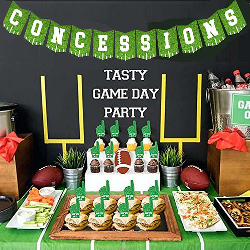Football Concessions Banner