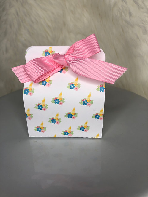Unicorn Girl Small Favor Box