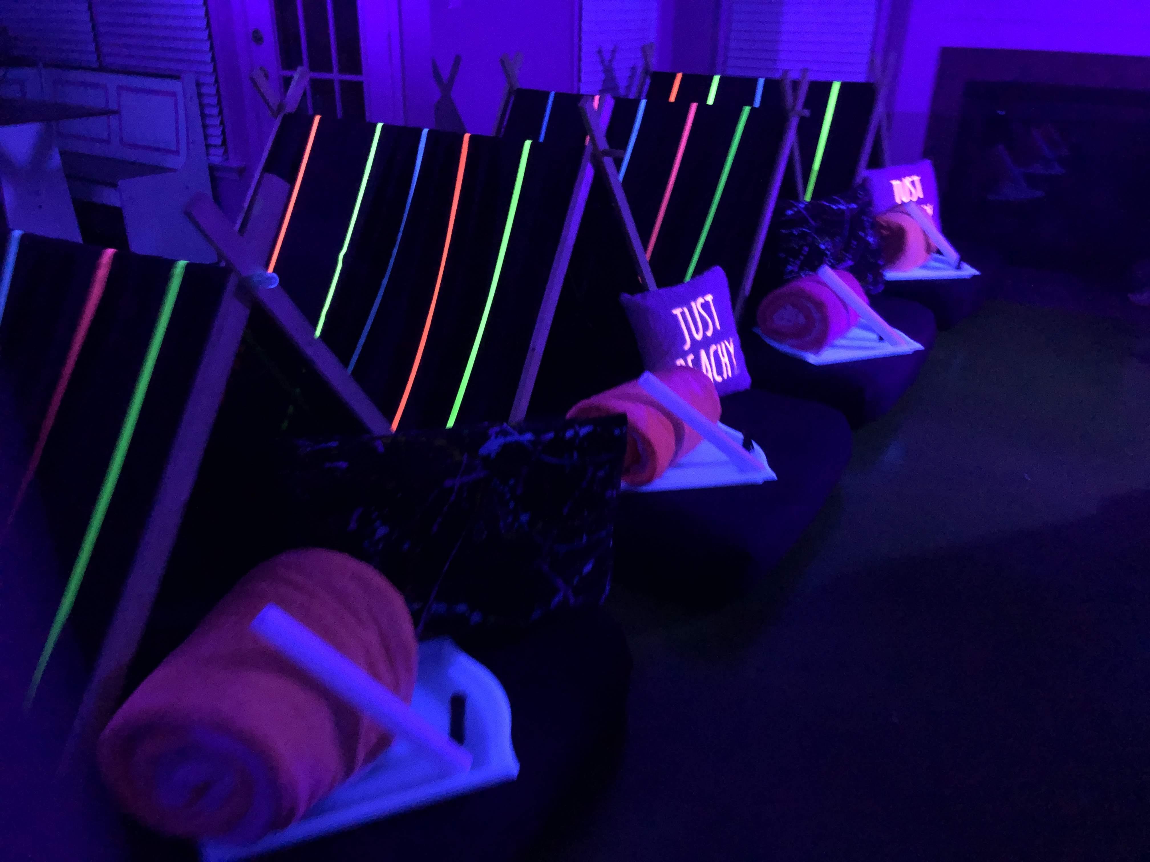 Glow Sleepover Party
