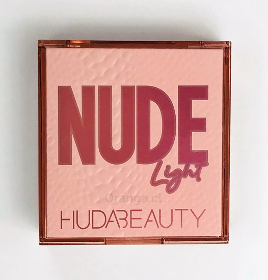 Paleta Nude Light - Huda Beauty 9 colores