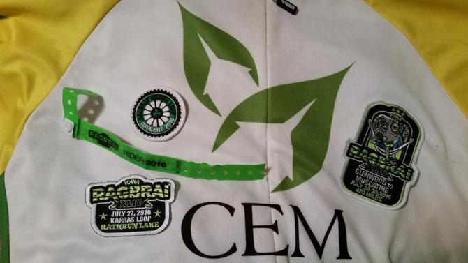 Support CEM Team RAGBRAI 2017