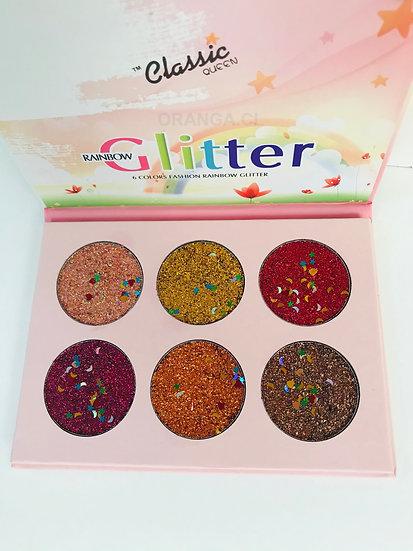 Paleta Glitter Rainbow