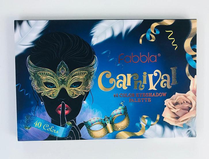 Paleta de sombras Carnival 40 colores