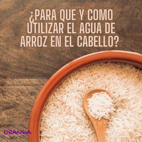 ¿Para qué y como utilizar el agua de arroz en el cabello?