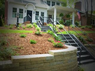 front sloped plantings.JPG