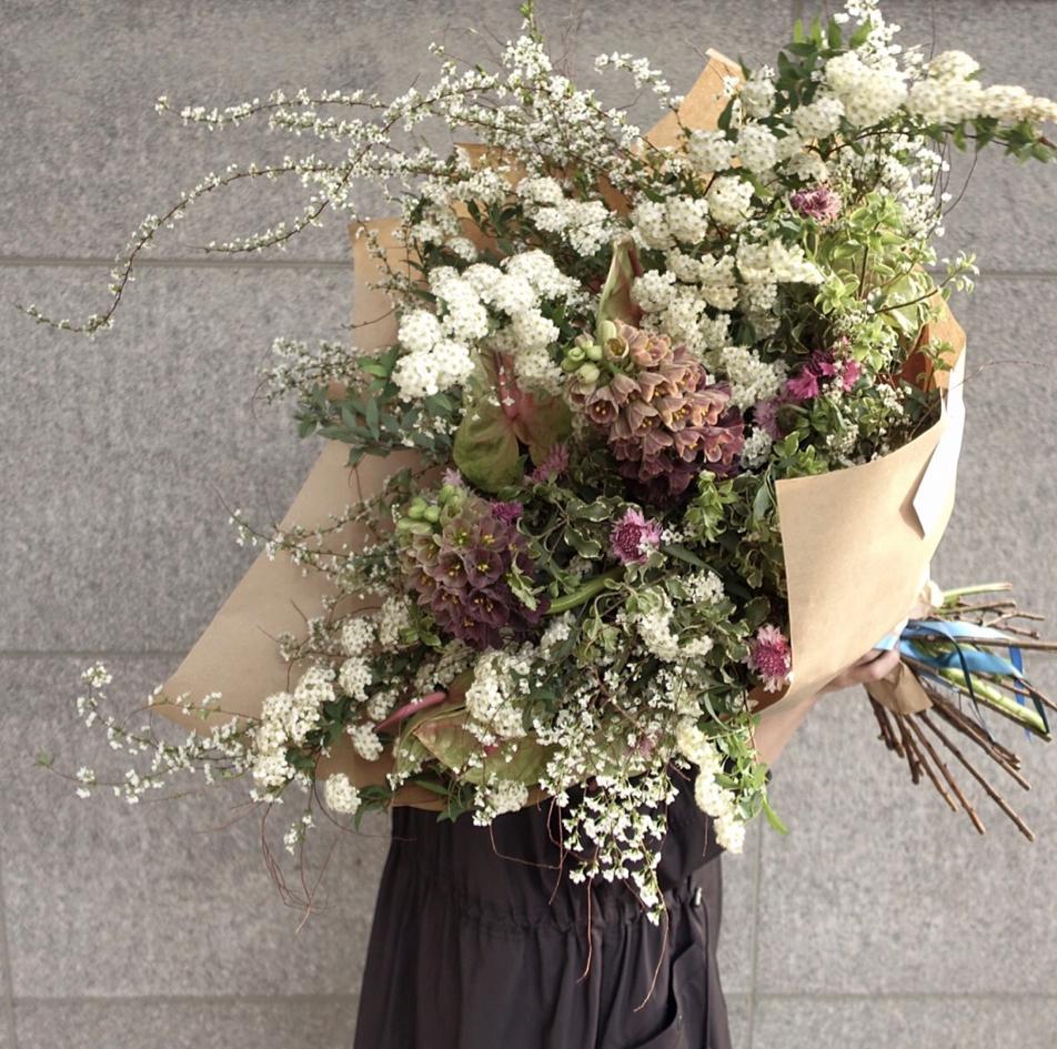 Flower lesson- handtied