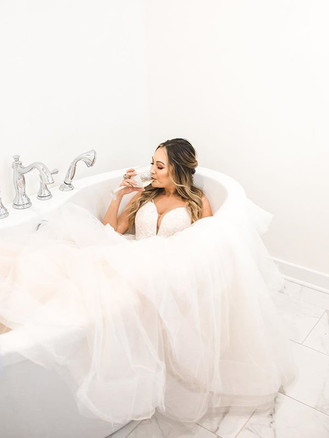 I'm totally sure this is what this bride