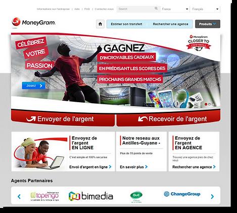 MoneyGram web site project