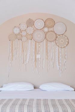 gorgona traditional bed decoration