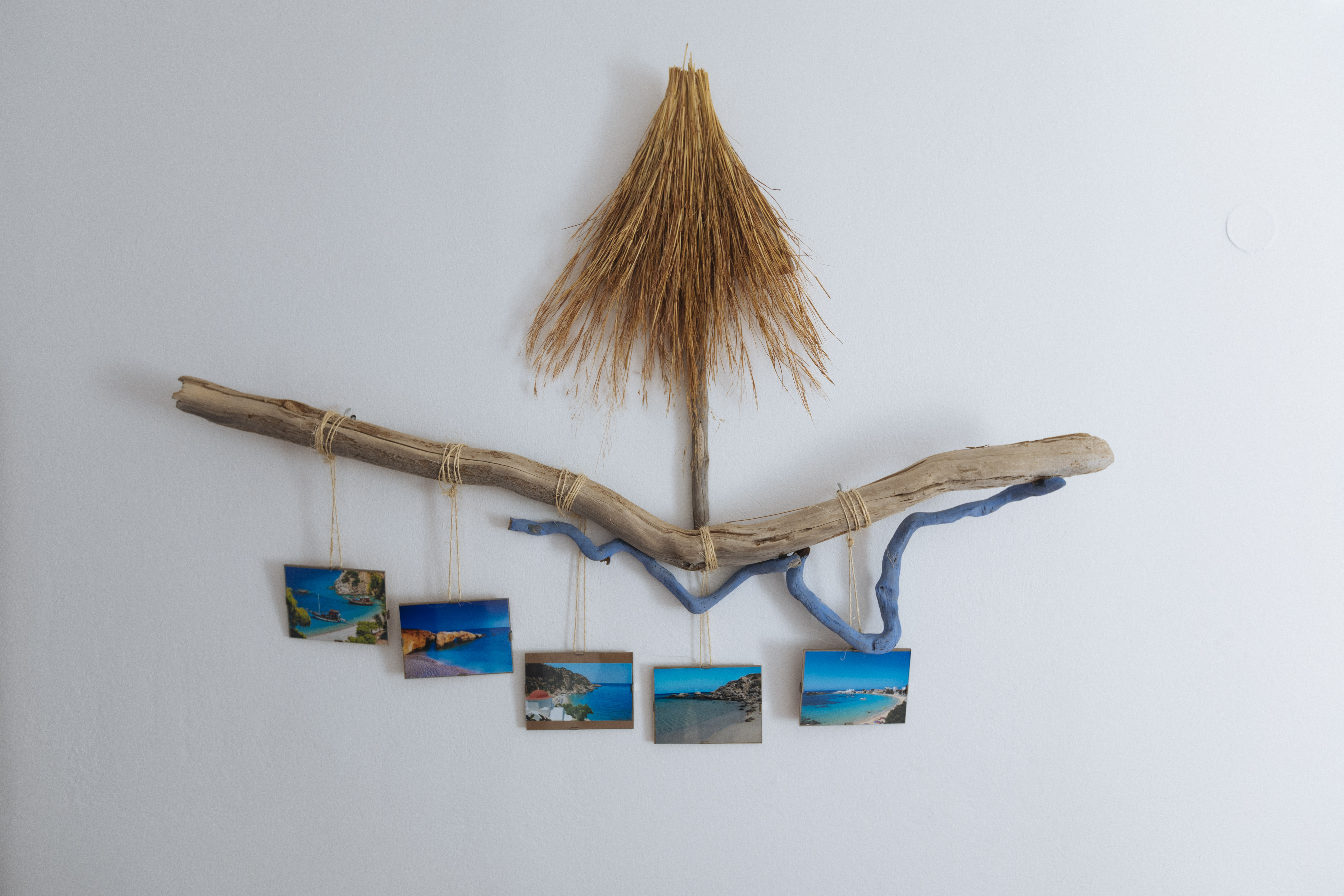 gorgona blue handmade art