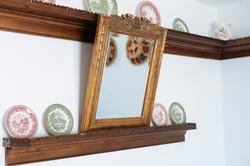 gorgona traditional art mirror decor