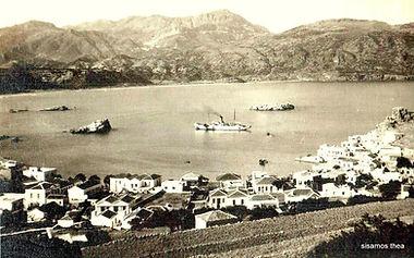 old image of karpathos bay