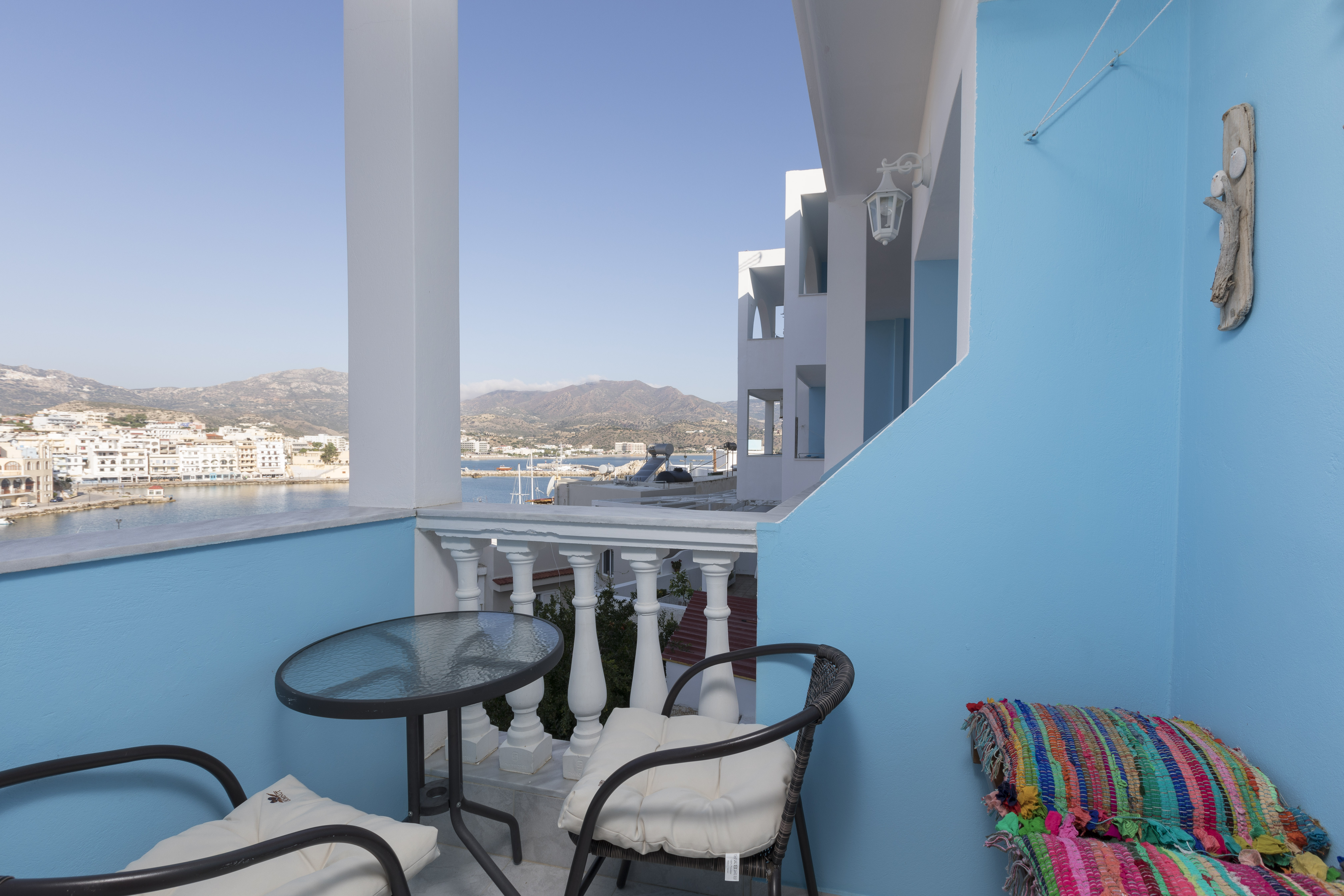 gorgona blue balcony amazing view