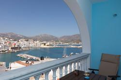 gorgona traditional balcony view
