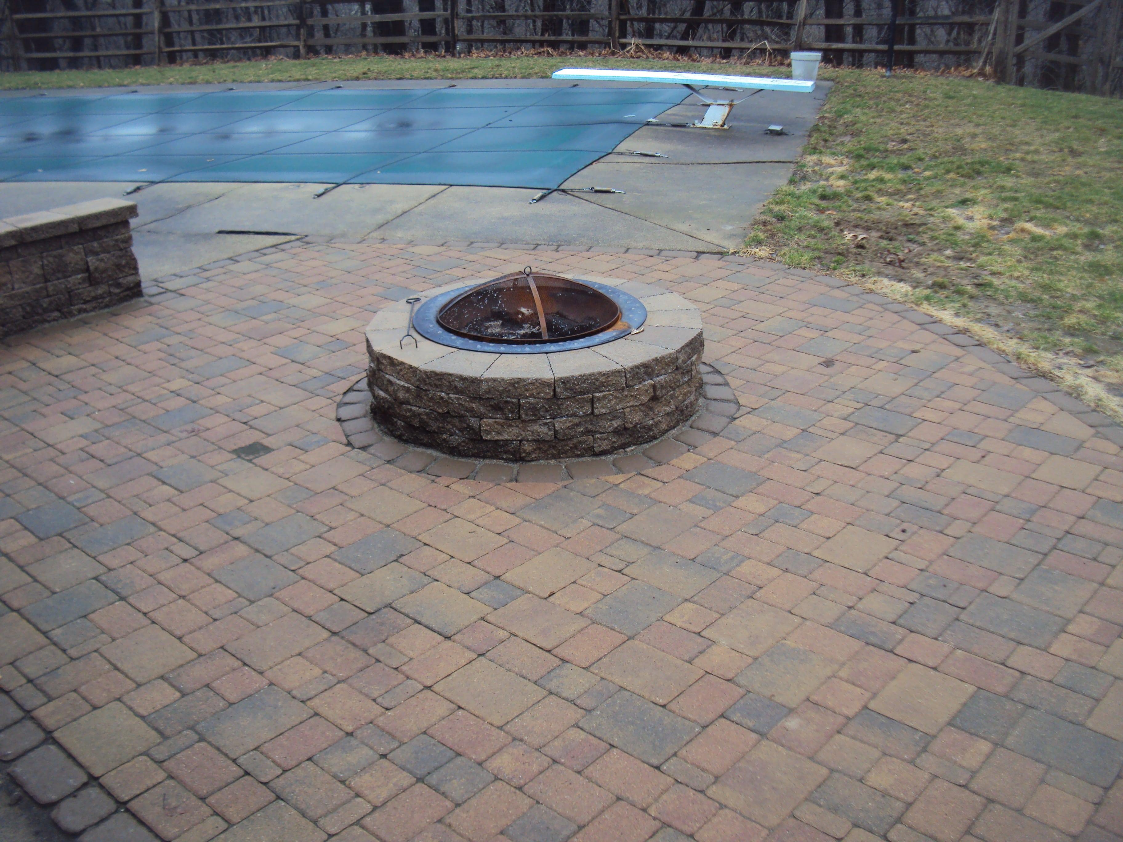 Landscaping Stone Brick Patio