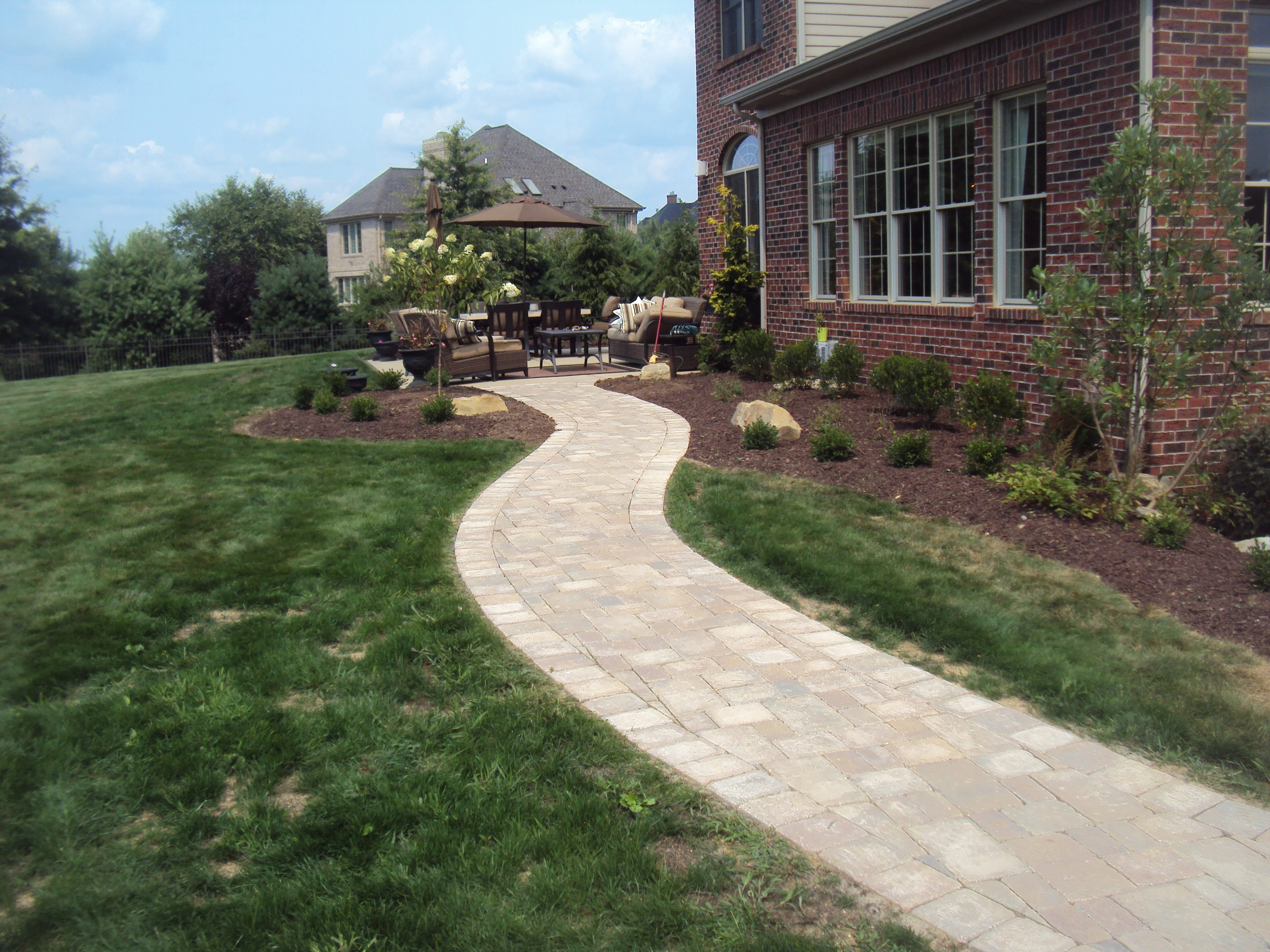 Landscaping Stone Walkway