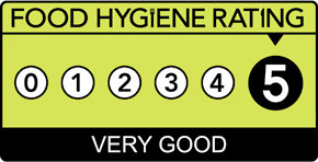 CBFT receives 5 Star Food Hygiene Rating