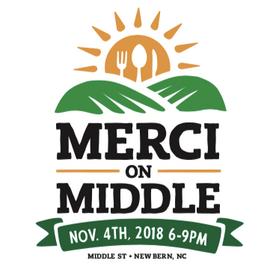 MERCI on Middle 2018 logo