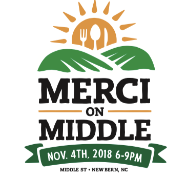 MERCI on Middle Back for 2nd Annual Event in Downtown New Bern